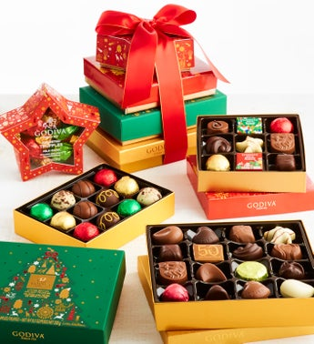 Godiva 2019 Exclusive Holiday Chocolates Tower