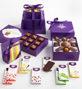 Vosges Exclusive Chocolate Collection Tower