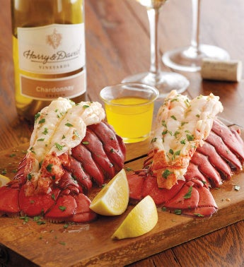Lobster Tails with Wine