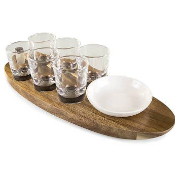 Cantinero Shot Glass Serving Tray