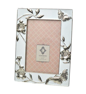 Butterfly  Flowers Frame