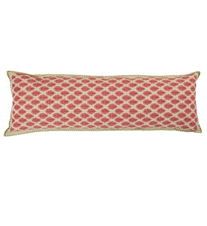 Artisan Hand Loomed Cotton Body Pillow