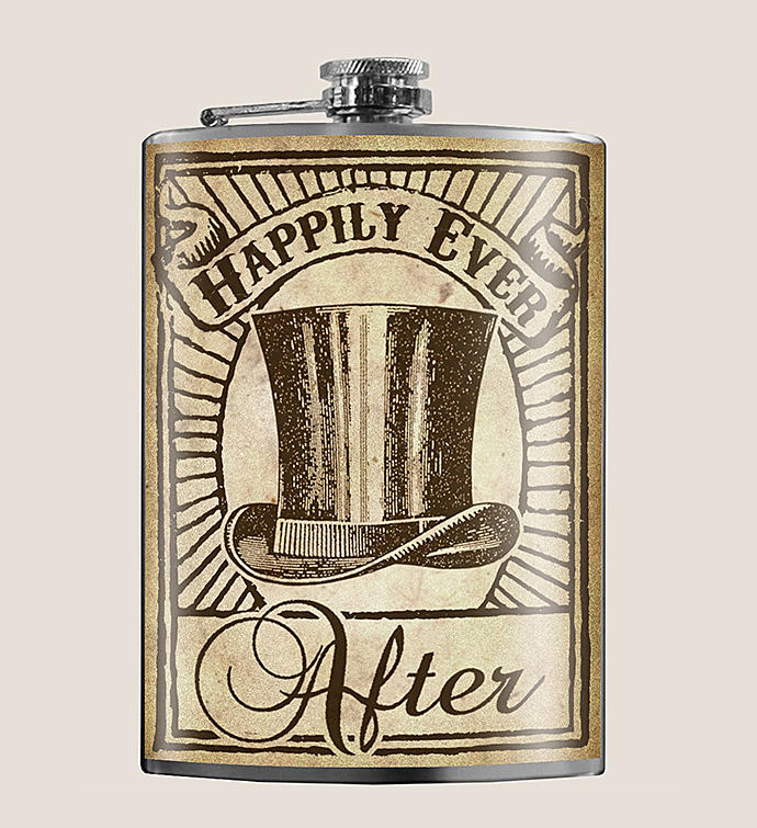 Happily Ever After - Groomsman - Flask