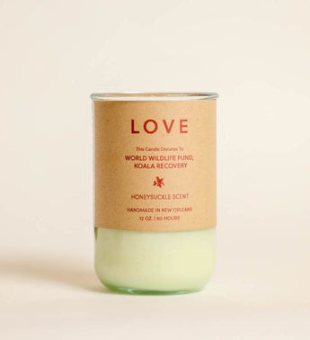 Love Candle - Gives To World Wildlife Fund