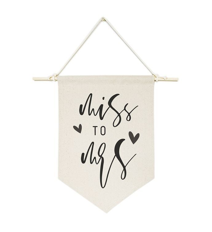 Wedding Canvas Wall Hang
