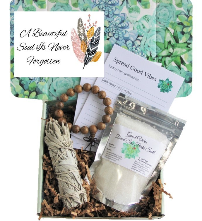 A Beautiful Soul - Sympathy Gift Care Package
