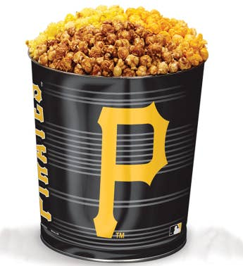 Pittsburgh Pirates 3-Flavor Popcorn Tins