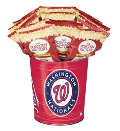 Washington Nationals 3-Flavor Popcorn Tins