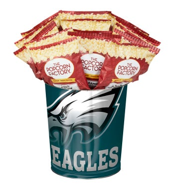 Philadelphia Eagles 3-Flavor Popcorn Tins