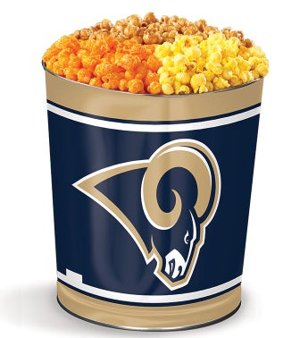 Los Angeles Rams 3-Flavor Popcorn Tins