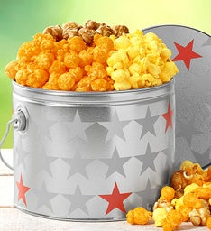 Red Pail Patriotic Kettle Corn