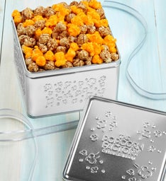 Specialty Corn Embossed Tins