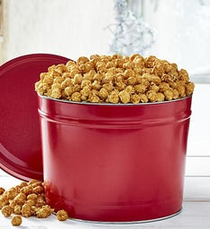 2 Gallon Simply Red Pick-A-Flavor Popcorn Tins