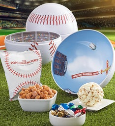 Baseball Shaped Tin