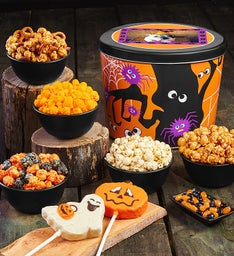 Spooky Spider Snack Assortment
