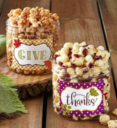 Give Thanks Canister Set
