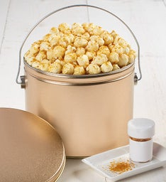 New Year's Fun Pail with Kettle Corn & Glitter