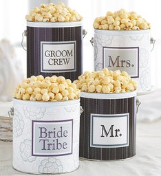 1 Gallon Wedding Favor Tins