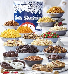 Winter Wonderland Tin Ultimate Snack Assortment