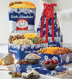 Winter Wonderland 6-Tier Tower & Tin