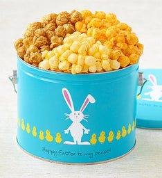 Easter Egg Parade 1/2-Gallon Pail Of Popcorn