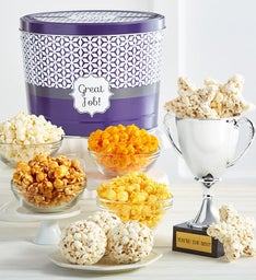 Youre the Best Trophy and Popcorn Assortment