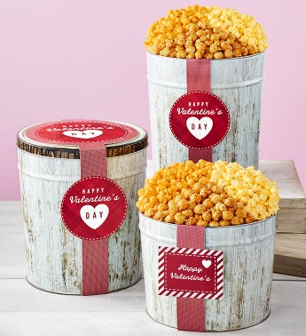 Nature of Love Popcorn Tins