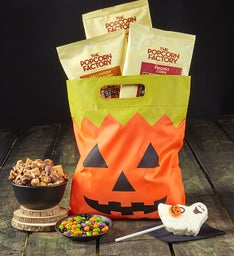 Bat & Pumpkin Treat Sacks