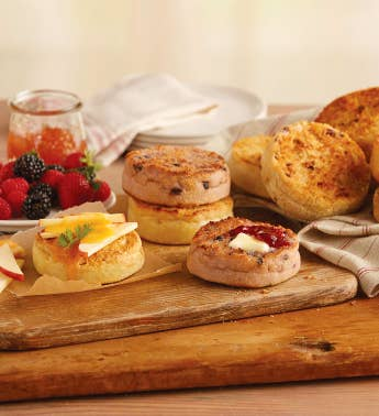 Create-Your-Own Signature English Muffins - 12 Packages
