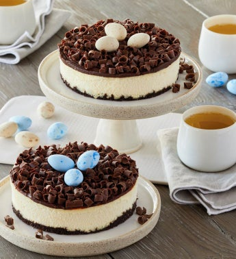 Bird39s Nest Cheesecake Duo